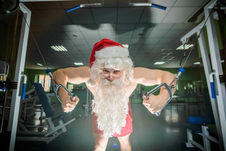 The Santa Claus Workout