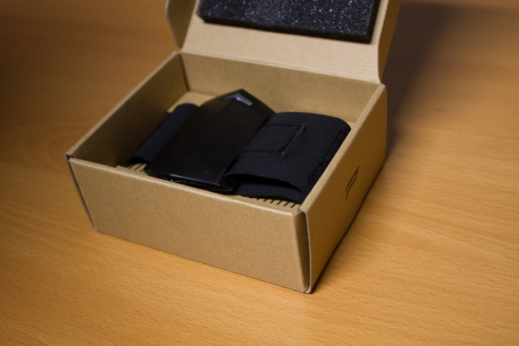 PUSH fitness tracker unboxed