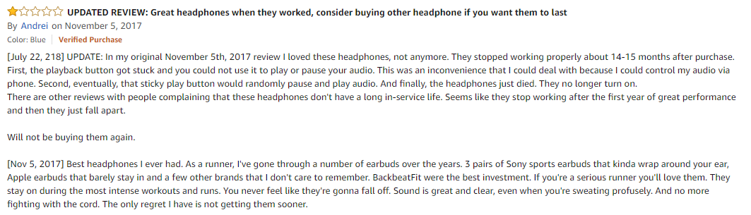 plantronics backbeat fit amazon review